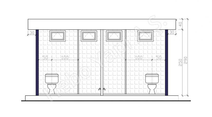 25 m2 WC
