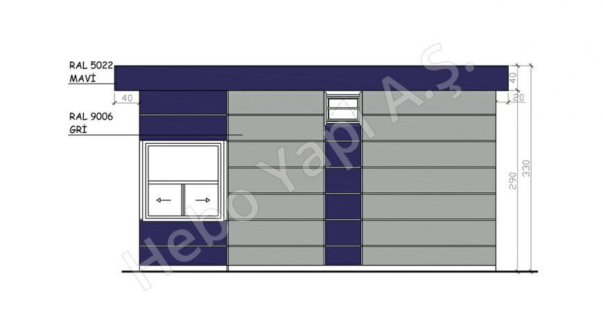 28,5 m2 WC