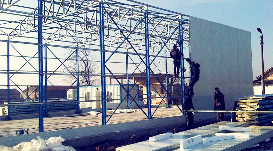 200 m2 Hangar Binası-0
