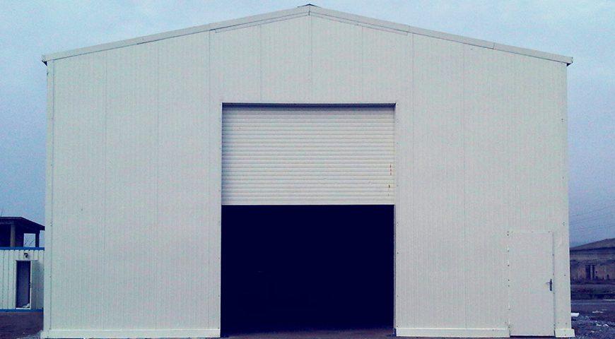 200 m2 Hangar Binası-1