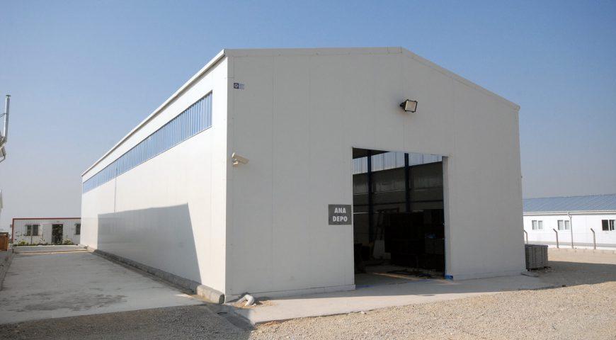Çelik Yapı 1000 m2-0