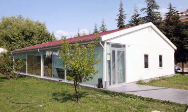 Tek Katlı Prefabrik Ofis Binası