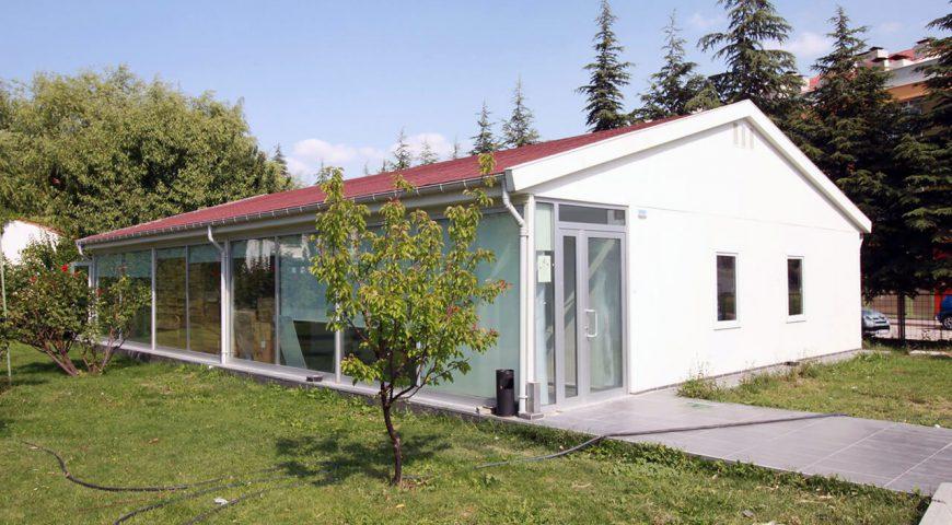Tek Katlı Prefabrik Ofis Binası-0