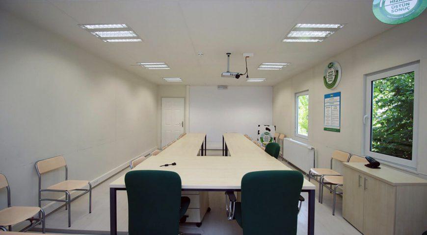 Tek Katlı Prefabrik Ofis Binası-4