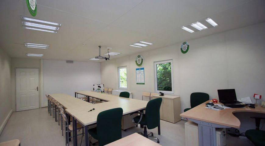 Tek Katlı Prefabrik Ofis Binası-5