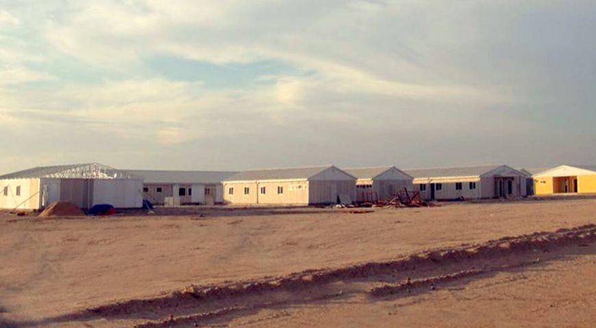 Prefabrike Kamp Alanı-2