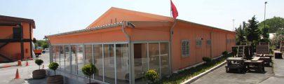 Lojistik Merkezi ve Toplantı Salonu Projesi