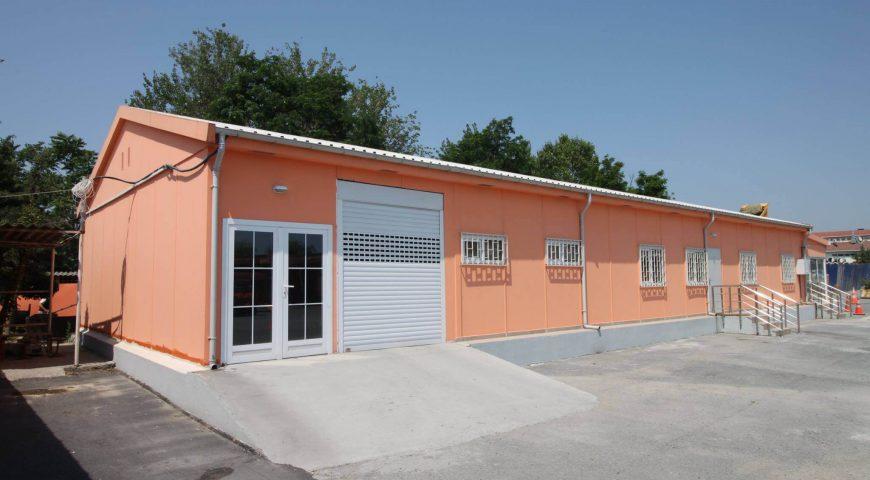 Lojistik Merkezi ve Toplantı Salonu Projesi-1