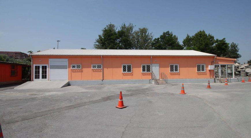 Lojistik Merkezi ve Toplantı Salonu Projesi-2