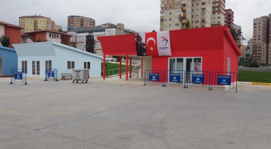 Prefabrik Pazar Yeri Projesi-1