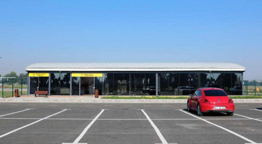 Yunuseli Havaalanı Yolcu Terminali Hizmete Açıldı