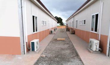 3.500 m2 Covid-19 Hastane Binaları