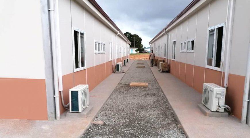 3.500 m2 Covid-19 Hastane Binaları-1