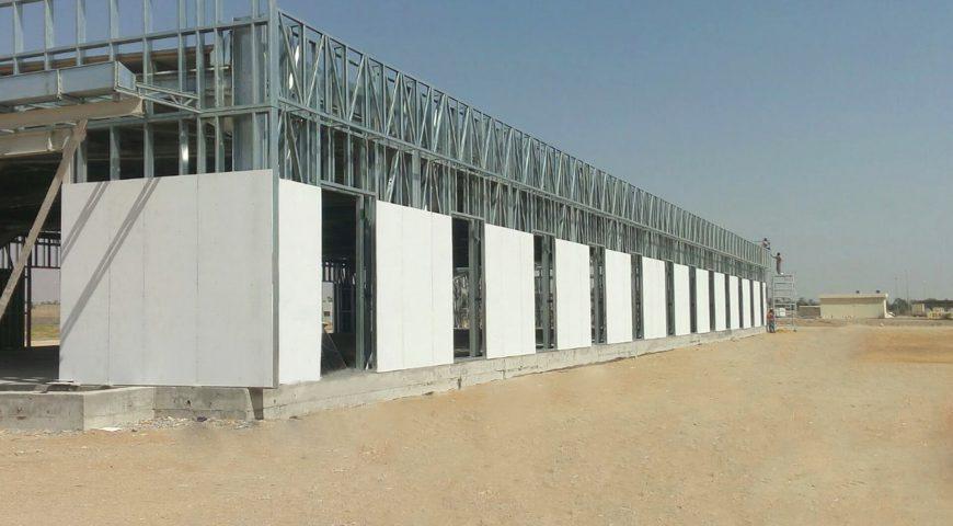 Hafif Çelik Spor Salonu Binası-1