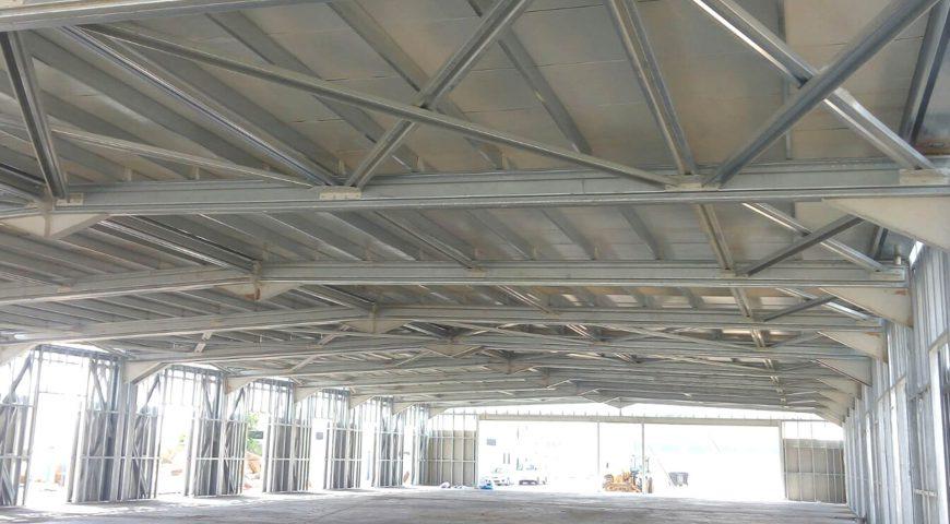 Hafif Çelik Spor Salonu Binası-2