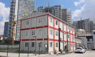 Şantiye Binaları Projesi