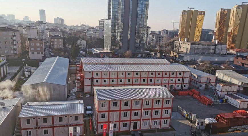 Şantiye Binaları Projesi-7